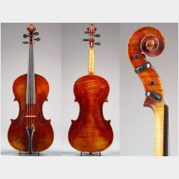 Modern Italian Violin, Probably Carlo Ravizza, Cremona, 1939