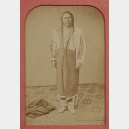 Framed Photograph of Ute Chief Ouray