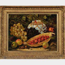 English School, 19th Century      Still Life with Fruit