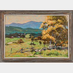 Alphonse Joseph Shelton (American, 1905-1976)    Vermont