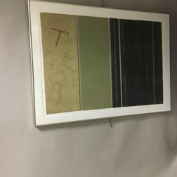 Two Framed Peggy Magnussen Rice Paper Prints
