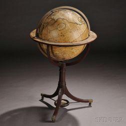 Dudley Adams 18-inch Terrestrial Globe