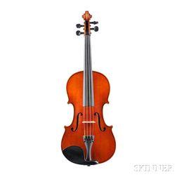 German Violin, Heinrich Th. Heberlein, Jr., Markneukirchen, 1894