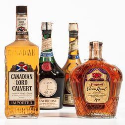 Mixed Spirits, 1 quart bottle 1 4/5 quart bottle 2 23oz bottles