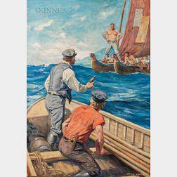 Anton Otto Fischer (American, 1882-1962)      Pirates