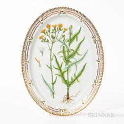 Royal Copenhagen Flora Danica Platter