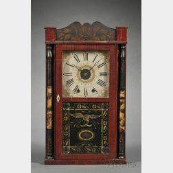 Hiram Welton Alarm Timepiece Shelf Clock
