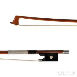 German Silver-mounted Violin Bow