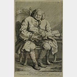 William Hogarth (English, 1697-1764)      Simon Lord Lovat