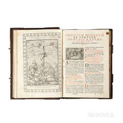 Missale Romanum, ex Decreto Sacrosancti Concilij Trident. Restitutum, ac Pij V. Pont. Max. iussu editum.