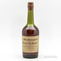 Le Brasque Bas Armagnac, 1 bottle