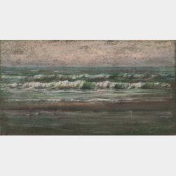Dwight Tryon (American, 1849-1925)      Evening Light