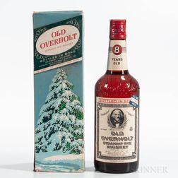 Old Overholt 1950, 1 4/5 quart bottle