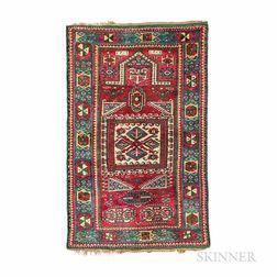 Early Kazak Prayer Rug