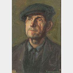 Frank von der Lancken (American, 1872-1950)    The Stevedore