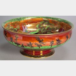 Wedgwood Flame Fairyland Comfort Salad Bowl