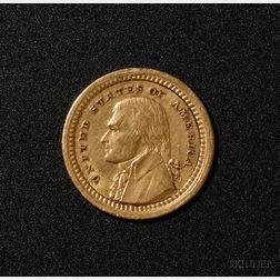 1903 Souvenir Louisiana Purchase Exposition Gold Dollar