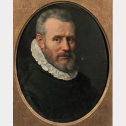 Continental School, 17th Century      Portrait of a Man in a Ruff