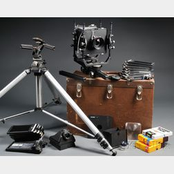 Cambo 4 x 5 Monorail View Camera Outfit