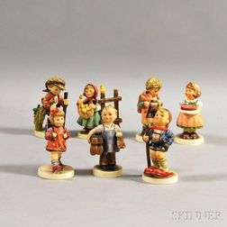 Seven Hummel Figures