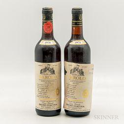 Giacosa Barolo Rionda di Serralunga 1978, 2 bottles