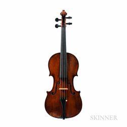 English Violin, Jacob Fendt, London, 1842