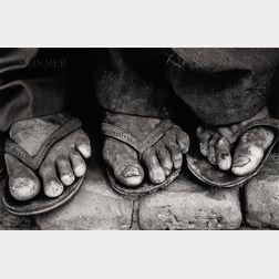 Sebastião Salgado (Brazilian, b. 1944)      Feet, Brasil