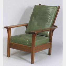 L. & J. G. Stickley Oak Morris Chair