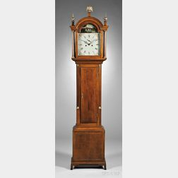 New England Cherry Tall Clock