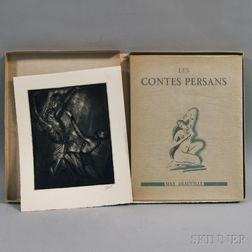 Max Deauville (1881-1966)   Les Contes Persans