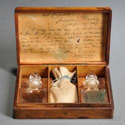 Masonic Olivewood Wages Box