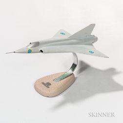 Saab 35 Draken Aviation Model