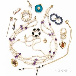 Group of Pearl Jewelry