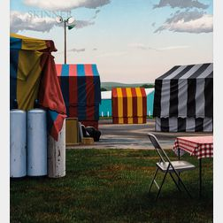 Scott Prior (American, b. 1949)      Circus Tents