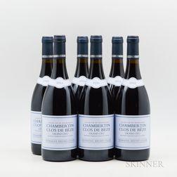 Bruno Clair Chambertin Clos de Beze 2016, 6 bottles