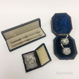Three Boxed Silver Items