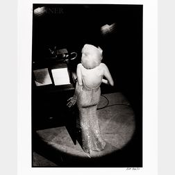 "Bill Ray (American, 1936-2020)      Marilyn Monroe Singing ""Happy Birthday"" to JFK"