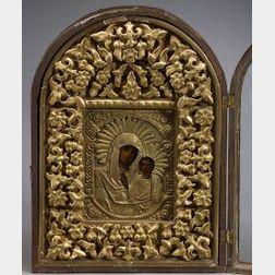Russian Icon of the Virgin Kazanskaya
