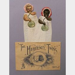 The Heavenly Twins with Original Envelope by Raphael Tuck