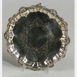 George III Silver Small Salver