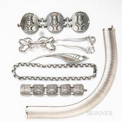 Group of Aluminum Jewelry