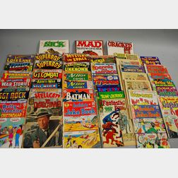 Approximately Fifty Silver and Bronze Age Comic Books