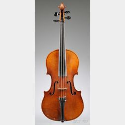 Modern German Violin, Gebruder Schuster, Markneukirchen, 1913