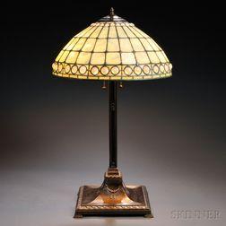 Tiffany Studios Mosaic Glass Lamp Shade