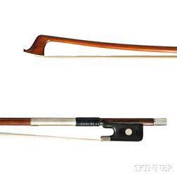 German Silver-mounted Cello Bow
