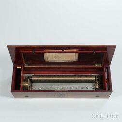 Paillard & Martin Sublime Harmonie Cylinder Musical Box