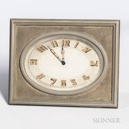 Art Deco Cartier Desk Clock