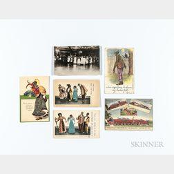 Six Postcards