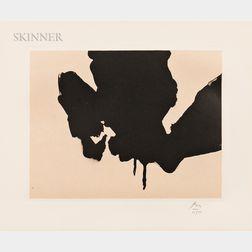 Robert Motherwell (American, 1915-1991)      Untitled