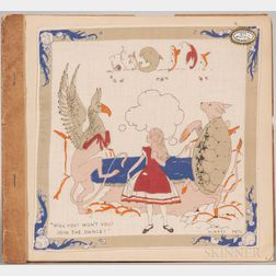 Carroll, Lewis, (1832-1898) illus. Gladys Peto (1890-1977) Alice in Wonderland Handkerchiefs  , c. 1930.